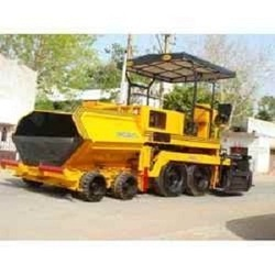 Hydrostatic Sensor Wet Mix Paver Finisher