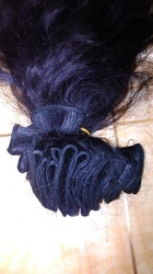 Remy Unprocessed Natural Single Weft Hair