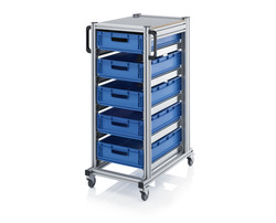 system trolley for euro container from auer packaging gmbh manufacturer of trolley from germany. Black Bedroom Furniture Sets. Home Design Ideas