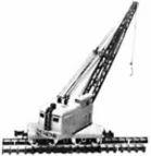 Diesel Crane & Flat Car