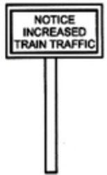 Track side Signs