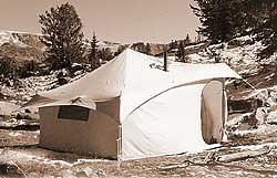 The Yellowstone Mountain Tent : reliable tent and tipi - memphite.com