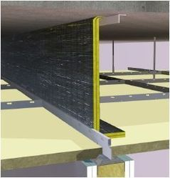 Ceiling Void Acoustic Barrier Flooring From Siderise