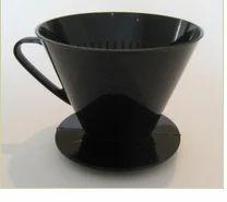 Plastic filter cone