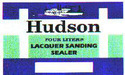 Hudson / Lacquer Sanding Sealers
