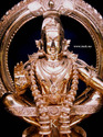 Ayyappan Bronze Viramgam Sculpture