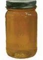 1-1/2 lb. Mason Glass Jar with Gold Metal Lid
