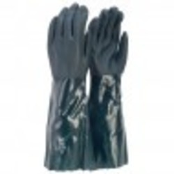 PVC Green Double Dip Gloves