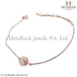 14k Gold Designer Gemstone Bracelet