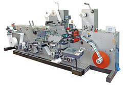 Roll to Roll Booklet-Label Production Machine