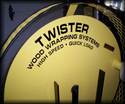 The Twister Firewood Wrapping System