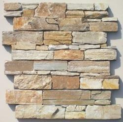 Slate Culture Ledge Natural Stone Exterior Wall Cladding From Mancheng Qingshan Stone Factory