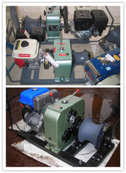 Engine Winch, Cable Drum Winch, Powered Winches