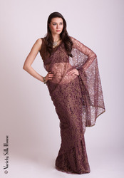 Chantilly lace lurex sarees chantilly lace sarees from variety chantilly lace sarees aloadofball Choice Image