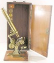 Antique Baker  Microscope