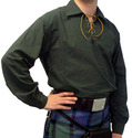 Clothing - Flashes - Dark Green Kilt Shirt - (Sizes S-Xl)