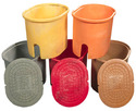 Polyethylene Colored Water Meter Boxes