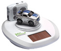 Micro-Sized Shelby Mustang with Solar Powered Turntable