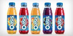 Oasis Fruit Drinks from Coca Cola Enterprise Ltd ... Oasis Juice Logo
