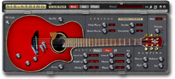 Six String Physical Modelling String Instrument