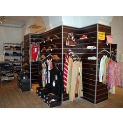 Custom clothing racks for a store in the West Village - Monroe Trades