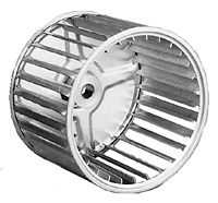 Single Inlet Blower Wheels Galvanized