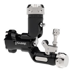 Sabre rotary tattoo machine from chameleon studio ltd for Best rotary tattoo machine on the market