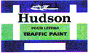 Hudson / Chlorinated Rubber Reflectorized Traffic Paint