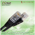 Rj45 Network Cable Cat5E and Cat6 Stranded