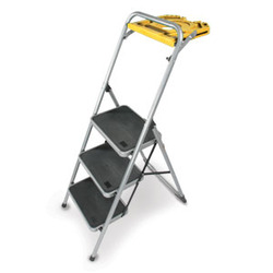 Folding Stepladder with Utility Tray