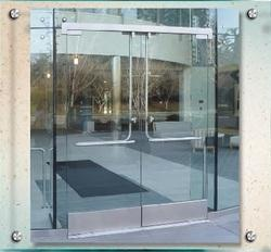 Dry set all glass entrance door rails from prl glass systems inc dry set all glass entrance door rails planetlyrics Image collections
