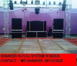DJ System in Wedding Party