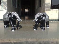Elephant Pair for Decoration