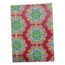 Printed Leather Diary