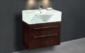 Bathroom Furniture/Wall Hung Units/  Svedbergs Indigo Vanity Unit 70 & Whirl Basin