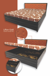 Lift On Gold Storage Bed