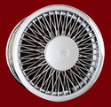 Classic III LW Cadillac Cross Lace Wire Wheel