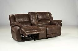 Glider rec loveseat w console sofa from comeaux furniture Comeaux furniture