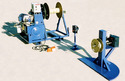 Take Up And Payout Reel Stand Spooler