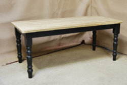 Farmhouse Leg Table