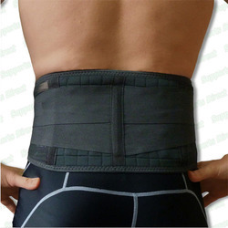 Lumbo Sacral Double Support Belt (Blue)