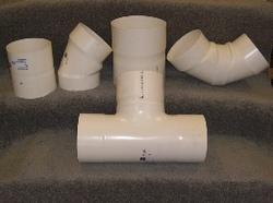 PVC Large Diameter Fittings
