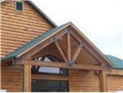 Square Timber Truss