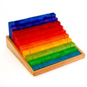 Stepped Counting Blocks (100 Pieces)