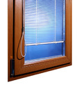 Manually-Controlled Integrated Izoglas Blinds