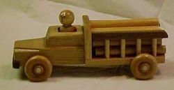 Medium Log Truck Toy