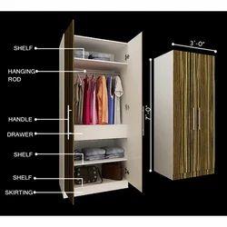 Designer wardrobes from ansa interior designers for Indian wardrobe interior designs