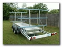 Light Weight Rowing Boat Trailers