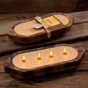 Boat Candle Tray