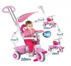 Smart Trike- 3-in-1 Smart Trike Plus Multi Function Tricyle